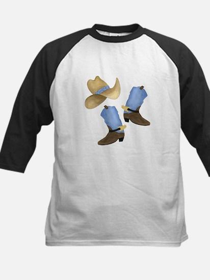 Cowboy - Western Kids Baseball Jersey