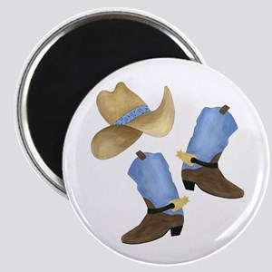 Cowboy - Western Magnet
