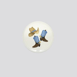 Cowboy - Western Mini Button