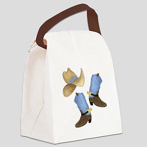 Cowboy - Western Canvas Lunch Bag