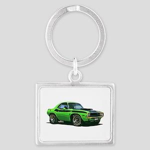 BabyAmericanMuscleCar_70CHLGR_green Keychains