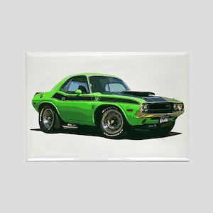 BabyAmericanMuscleCar_70CHLGR_green Magnets
