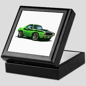 BabyAmericanMuscleCar_70CHLGR_green Keepsake Box