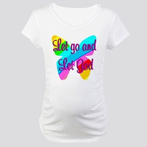 TRUST GOD Maternity T-Shirt