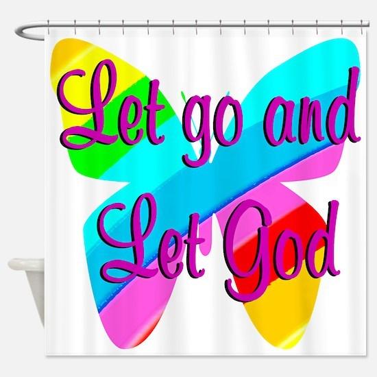 TRUST GOD Shower Curtain
