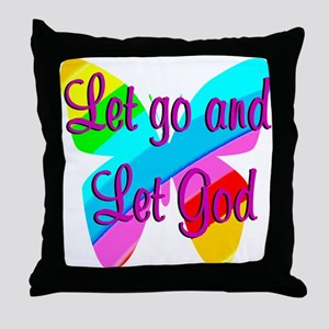 TRUST GOD Throw Pillow