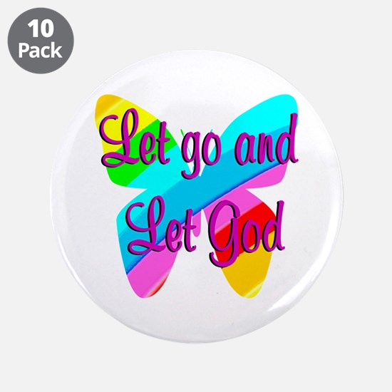 "TRUST GOD 3.5"" Button (10 pack)"