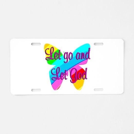 TRUST GOD Aluminum License Plate