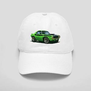 BabyAmericanMuscleCar_70CHLGR_green Baseball Cap