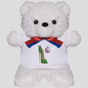 Christmas Stiletto Teddy Bear