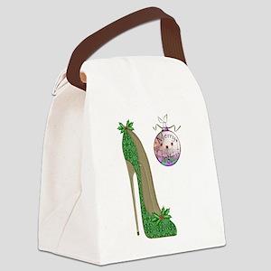 Christmas Stiletto Canvas Lunch Bag