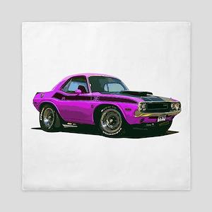 BabyAmericanMuscleCar_70CHLGR_Purple Queen Duvet