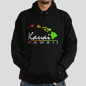 Kauai Hawaii (Distressed Design) Hoodie