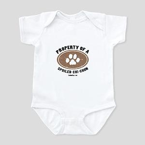Chi-Chon dog Infant Bodysuit