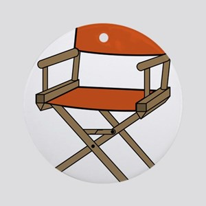 Directors Chair Ornament (Round)