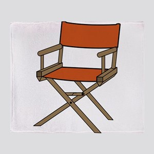 Directors Chair Throw Blanket