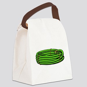 Garden Hose Canvas Lunch Bag