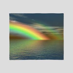 Rainbow 005 Throw Blanket