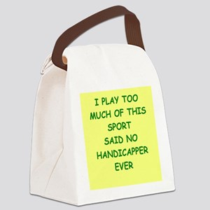 HANDICAPPER Canvas Lunch Bag
