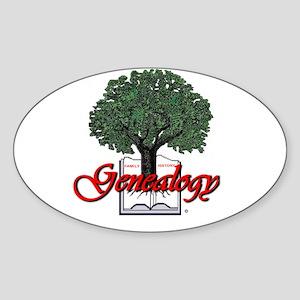 Genealogy Sticker (Oval)