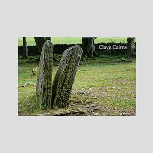 Clava Cairns Rectangle Magnet