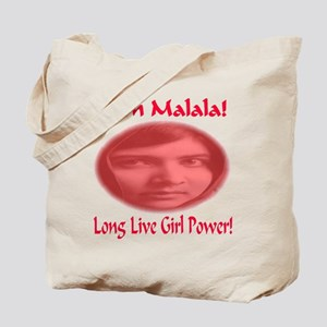 I Am Malala Long Live Girl Power Tote Bag