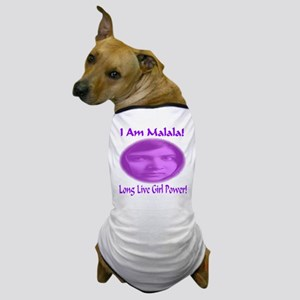 I Am Malala Long Live Girl Power Dog T-Shirt