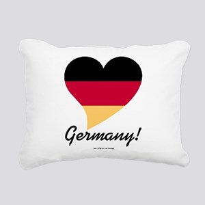 Heart Germany (International) Rectangular Canvas P