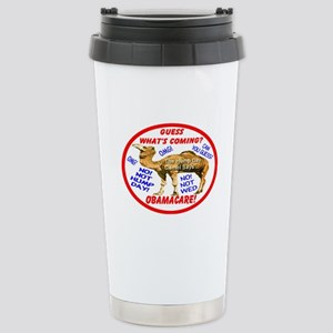 Obamacare Camel Stainless Steel Travel Mug