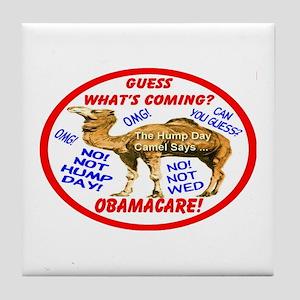 Obamacare Camel Tile Coaster
