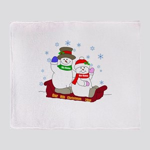 Our Nth Christmas Throw Blanket