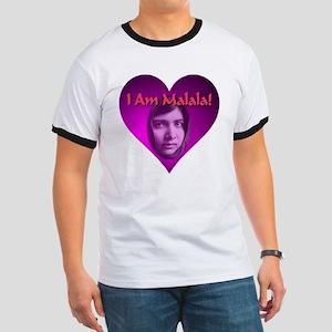I Am Malala Heart Best Seller Ringer T