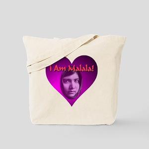 I Am Malala Heart Best Seller Tote Bag