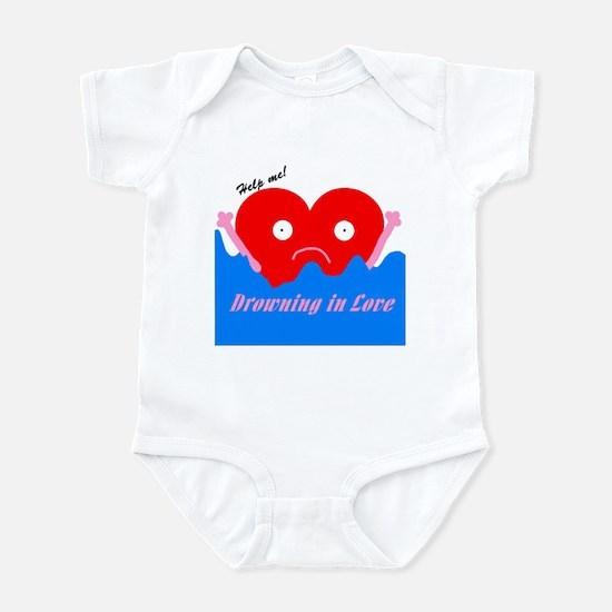 Drowning in Love Infant Bodysuit