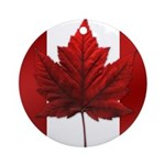 Canada Flag Maple Leaf Ornament Souvenir Keepsake