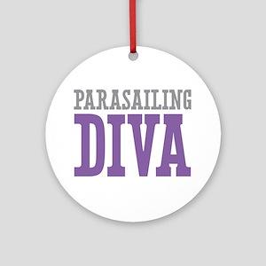 Parasailing DIVA Ornament (Round)