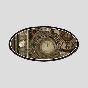 Steampunk, clocks and gears, mechanical design Pat