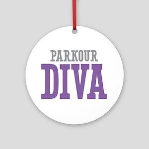 Parkour DIVA Ornament (Round)