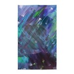 Dimensional Chill Abstract 3'x5' Area Rug