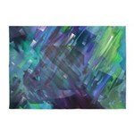 Dimensional Chill Abstract 5'x7'Area Rug