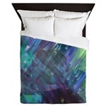 Dimensional Chill Abstract Queen Duvet Cover