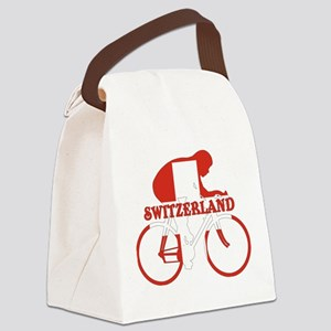 Swiss Cycling Canvas Lunch Bag