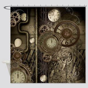 Steampunk, clocks and gears, mechanical design Sho