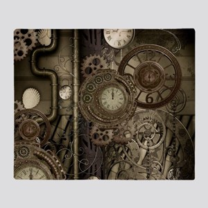 Steampunk, clocks and gears, mechanical design Thr