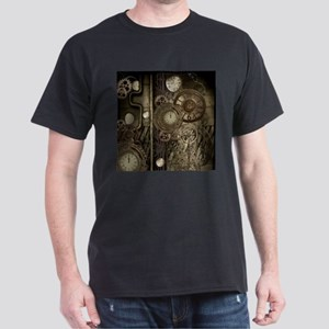 Steampunk, clocks and gears, mechanical design T-S