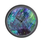 Dimensional Chill Abstract Wall Clock