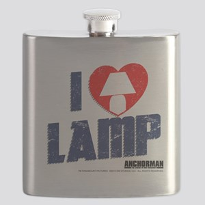 I Love Lamp Flask