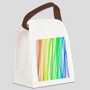 Abstract Art Canvas Lunch Bag