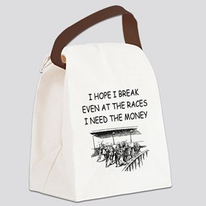 RACES2 Canvas Lunch Bag