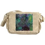 Dimensional Chill Abstract Messenger Bag